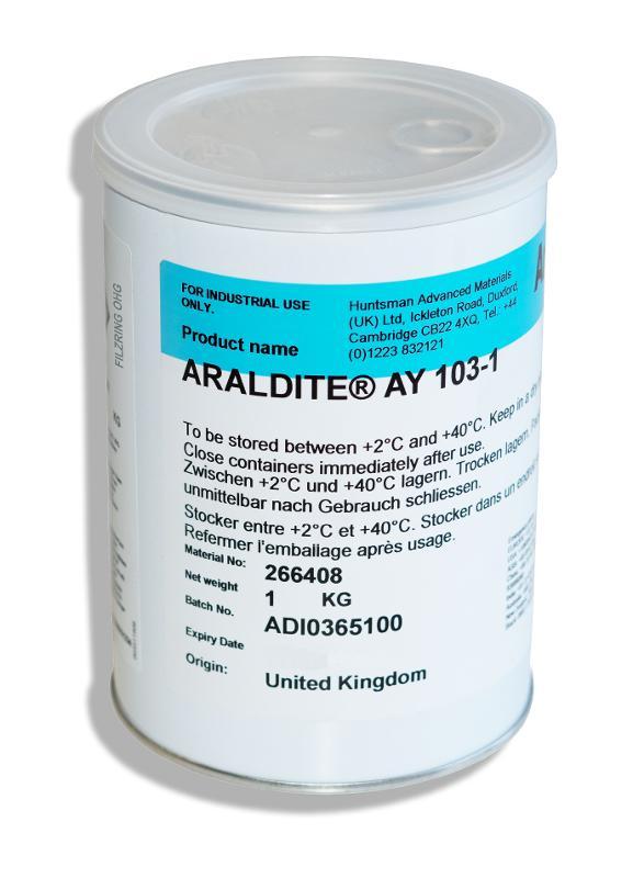 Araldite AY 103-1 | Harz HUNTSMAN | 1 kg - ARA-AY103-1