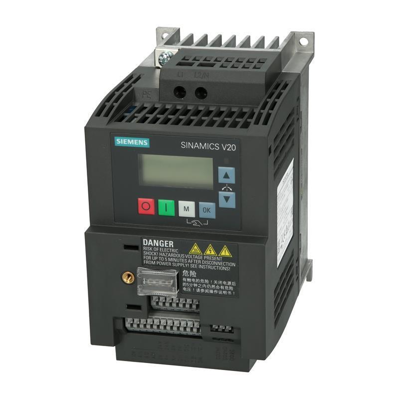 Variateur de fréquence Siemens SINAMICS V20 - 6SL3210-5BB21-5BV1 - null