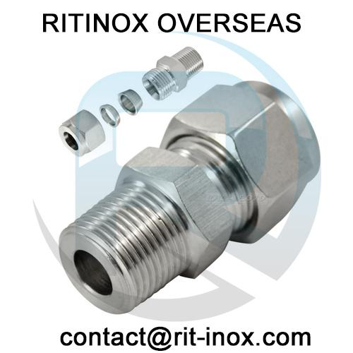 Duplex Steel Connector BSP / BSPP -