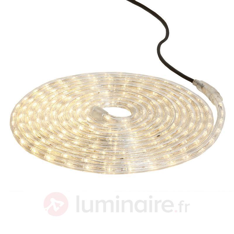 Tube lumineux LED Ropelight Flex 6 m blanc chaud - Tubes lumineux