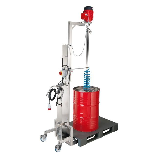 Drum emtying system VISCOFLUX mobile S - The mobile drum emptying system with many advantages