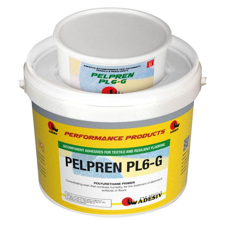 Pelpren Pl6-g Adesivo Bicomponente Per Pavimenti Tessili E Resilienti - null