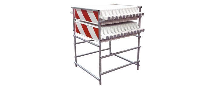 Matériels de rangement - Râtelier de rangement pour balises K5C - null