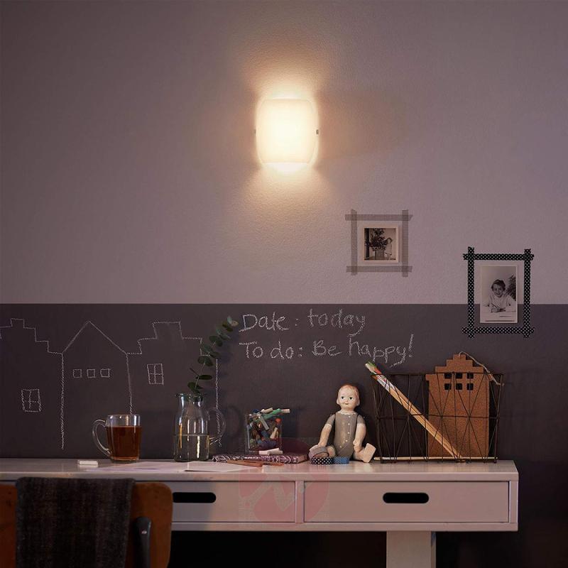 LED wall light Meton made of glass - indoor-lighting