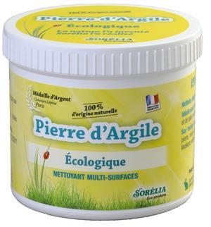Pierre d'argile blanche