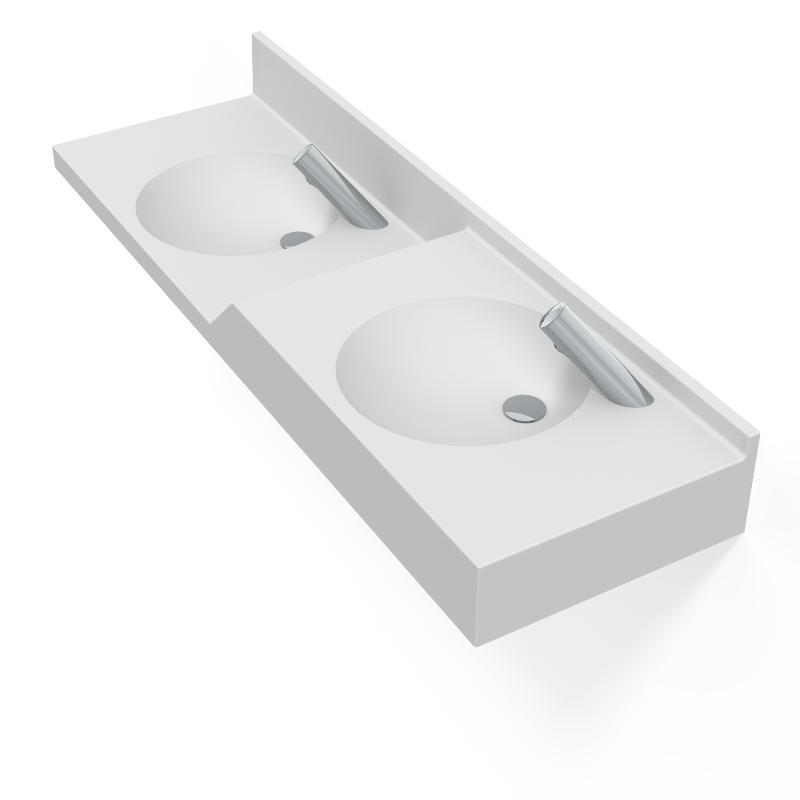 Aubel 1600 - D / 2 - Tables vasques
