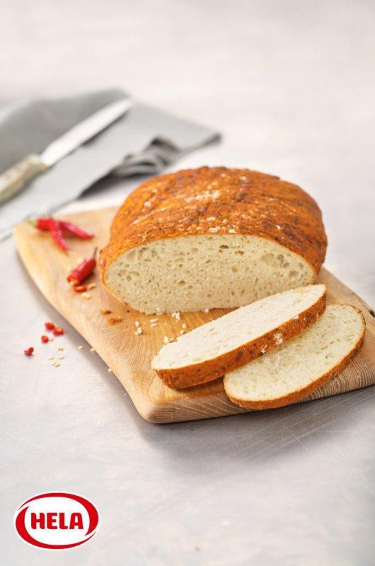 Hela bread marinade Hot Fire Tabasco® - Water-based seasoning marinades for coating bread and pastries.