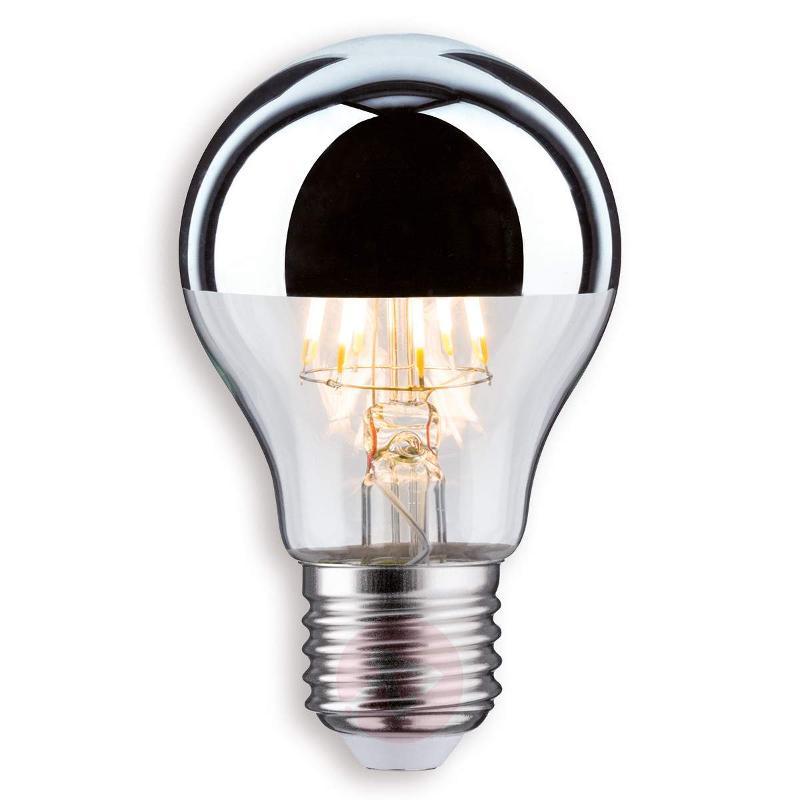 E27 5 W / 7.5 W 827 LED half mirror bulb - LED Bulbs