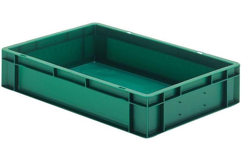 Stacking box: Dina 120 1 - Stacking box: Dina 120 1, 600 x 400 x 120 mm