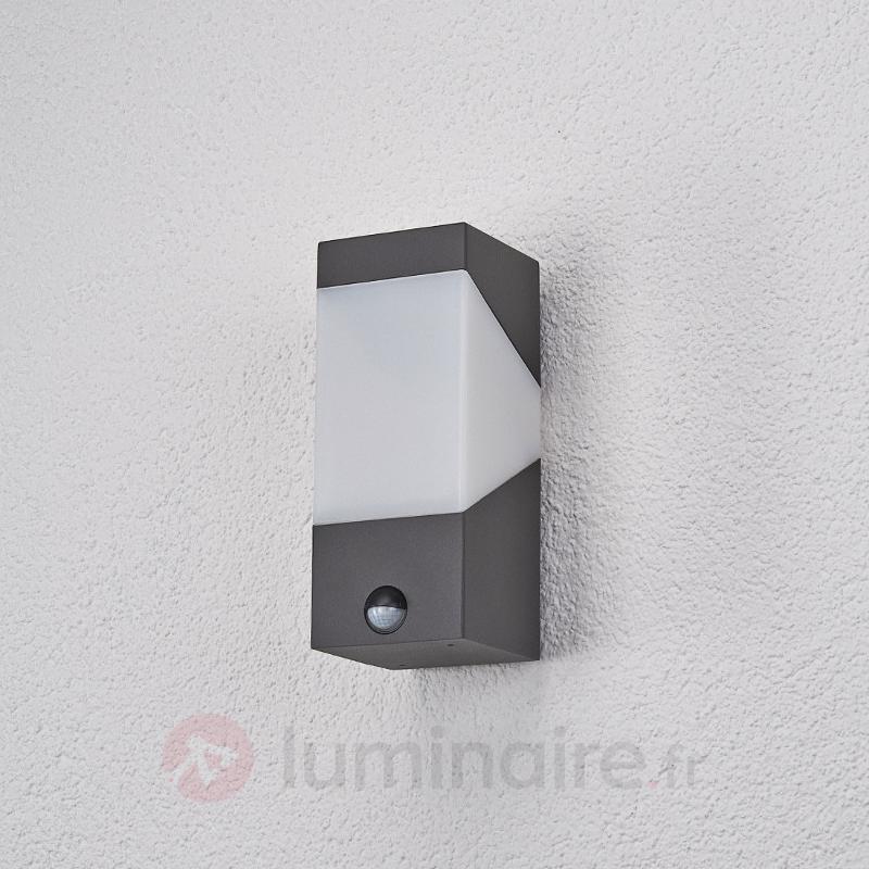 LED Applique d'ext Kiran à détecteur de mouvement - Appliques d'extérieur avec détecteur