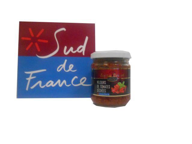 VELOURS DE TOMATE / VELVET OF TOMATOES 190G - Produits oléicoles