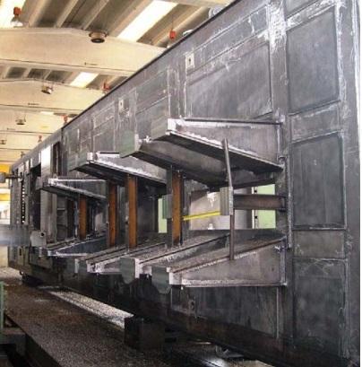 MANUFACTURING & MACHINING OF TURBO COMPRESSOR BASEPLATES - Machining