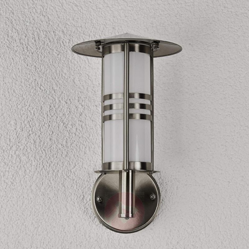 Erina Attractive Stainless Steel Outdoor Wall Lamp - stainless-steel-outdoor-wall-lights