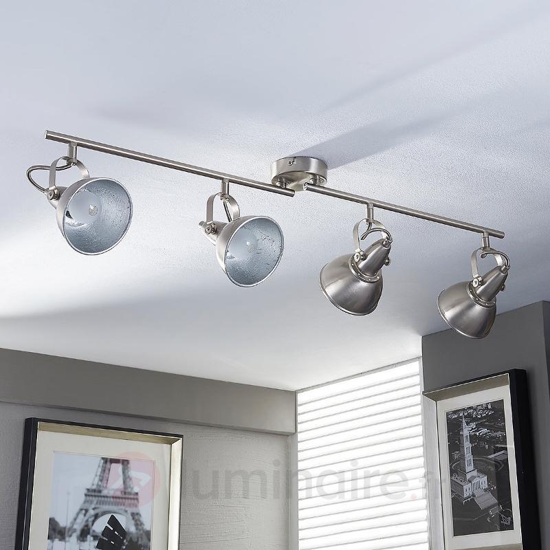 Lampe de cuisine vintage Julin à quatre lampes - Tous les spots et projecteurs