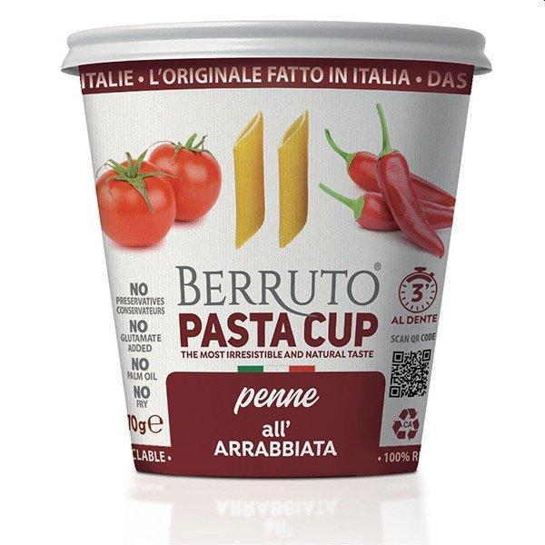 Penne Pasta With Arrabbiata Sauce - null