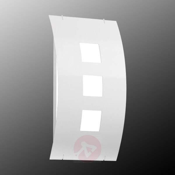 Aqua Toma White Exterior Wall Lamp - Outdoor Wall Lights
