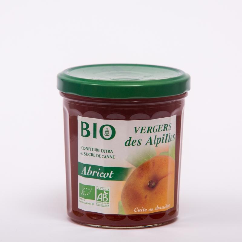 Vergers BIO - Abricot - Confitures Biologiques au sucre de canne