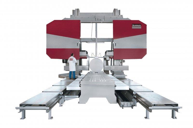 Scies à ruban de grande capacité - machines GANTRY - De la puissance en mouvement