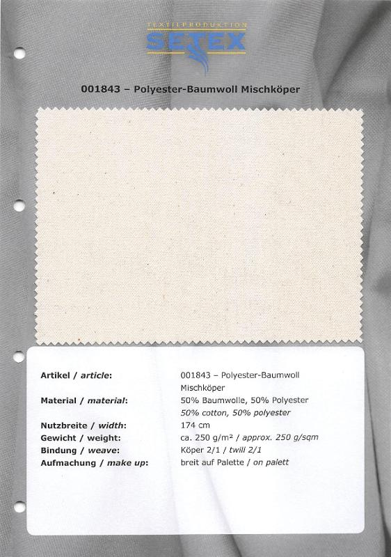 Polyester-Cotton mixing twill - Polyester-Cotton mixing twill