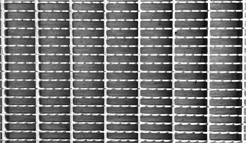 Wycieraczka - Krata stalowa ocynkowana ogniowo 120 x 80 cm - Wycieraczki – kraty stalowe ocynkowane