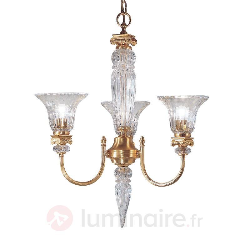 Lustre doré FIRENZE à 3 lampes - Lustres classiques,antiques