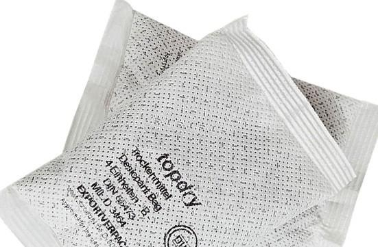 Activated Clay Packets - Industrial Desiccant Packs for Transport and Storage