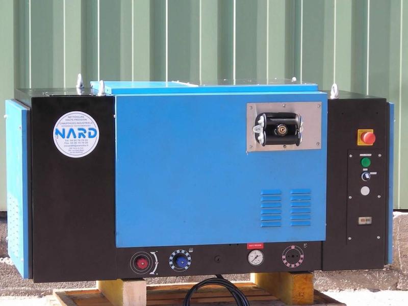 Nettoyeur haute pression eau froide poste fixe