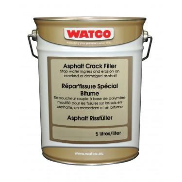 Réparation fissure bitume - Répar'fissure Spécial Bitume 5 litres Broc de 2 L Sable 5 kg