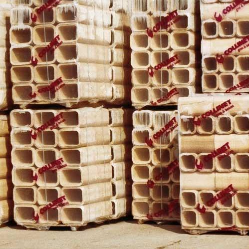 Boisseaux en terre cuite et réfractaire COREF - Conduits de cheminée