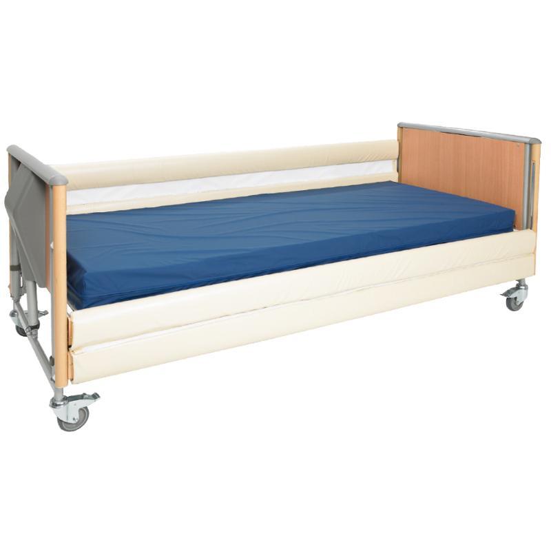 Bettgitterschutz mit Reißverschluss, Länge: 200 cm - Seitengitterpolster
