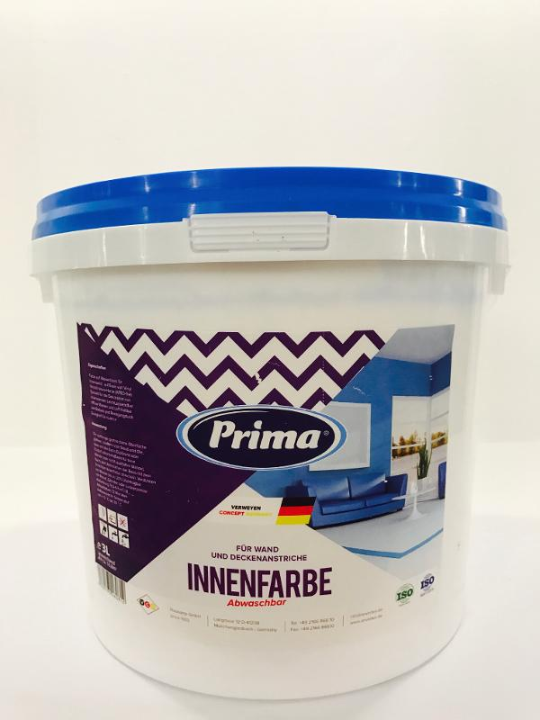 Prima Innenfarbe Abwaschbar 5 L - Farben