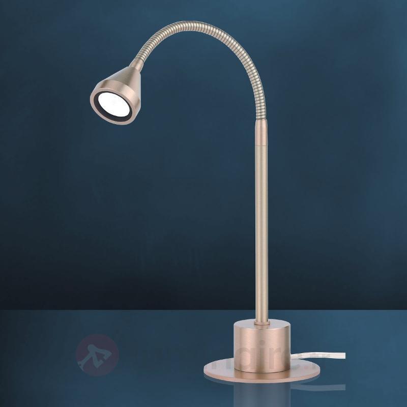Lampe à poser LED MINI orientable blanc universel - Lampes à poser LED