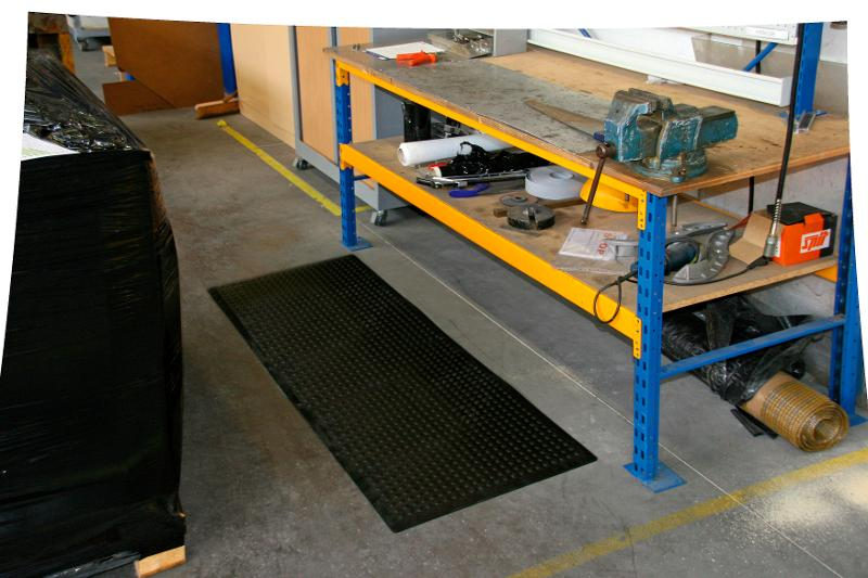 Tapis ergonomique connectable