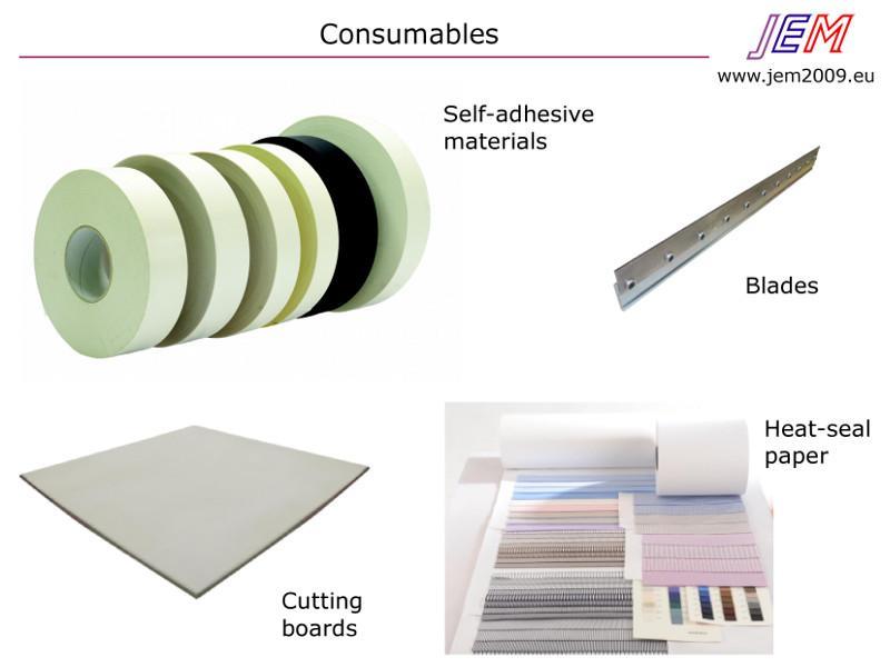 Materiali per il campionario tessile - Materials for sample making
