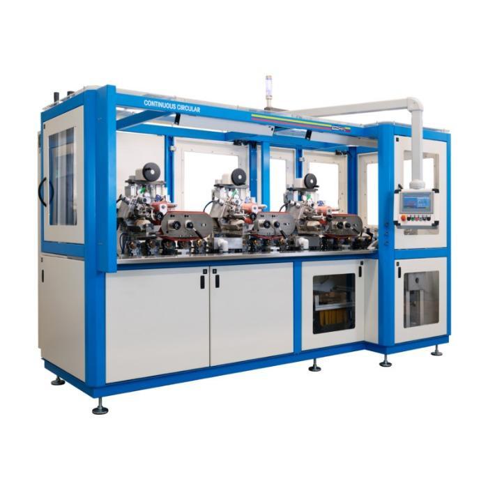 CONTINUOUS CIRCULAR Pad Printing Machine - Multi Color Rotary Pad Printing Machine