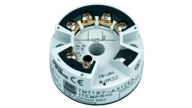 Temperature mesure Thermometres Transmetteurs - transmetteur temperature Pt100 TMT187