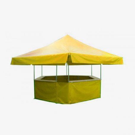 Stand Buvette Hexagonal - Tentes De Reception