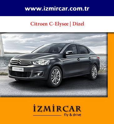 Citroen C-Elysee Dizel - İzmir Havaalanı Araç Kiralama | Oto Kiralama