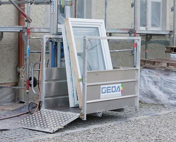 GEDA 200 Z - GEDA 200 Z - Materialaufzüge