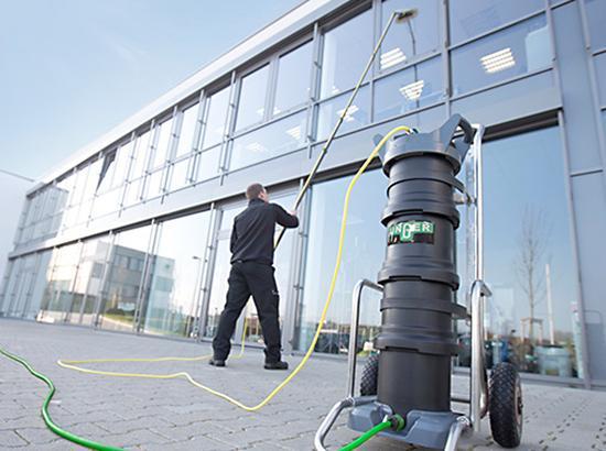 Lavage de vitres Ecologique à l'eau pure