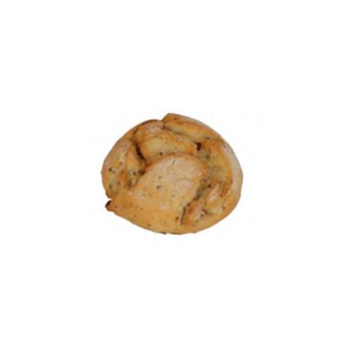 Polish roll with kabanos sausage -