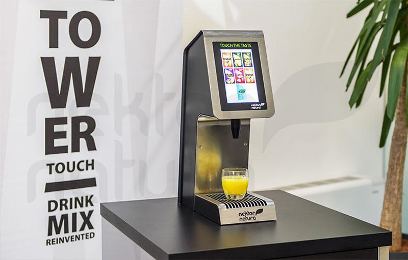 Točilna naprava Tower Touch - Točilna naprava za brezalkoholne sadne, alkoholne in mešane pijače