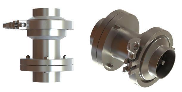 Hygienic breakaway check valve - null