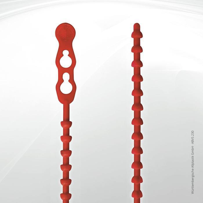 Allplastik-Blitzbinder® quick fastening cable ties - ABVS 230 (red)