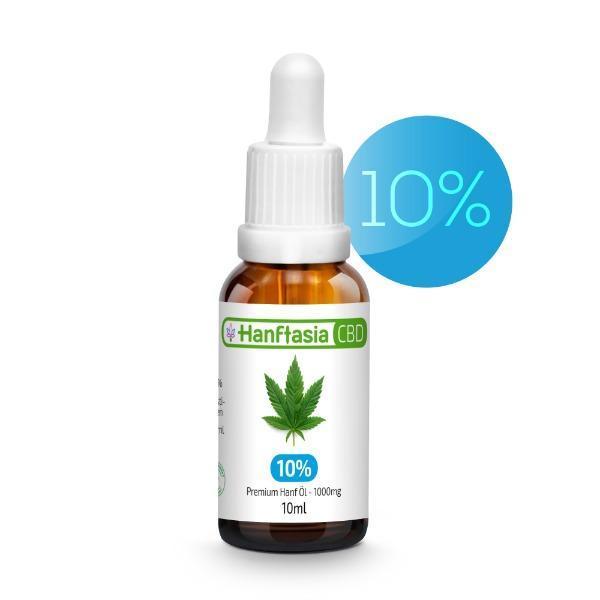 Aceite de CBD 10% - ACEITE DE CBD 10% - MCT - cáñamo de espectro completo - mascotas