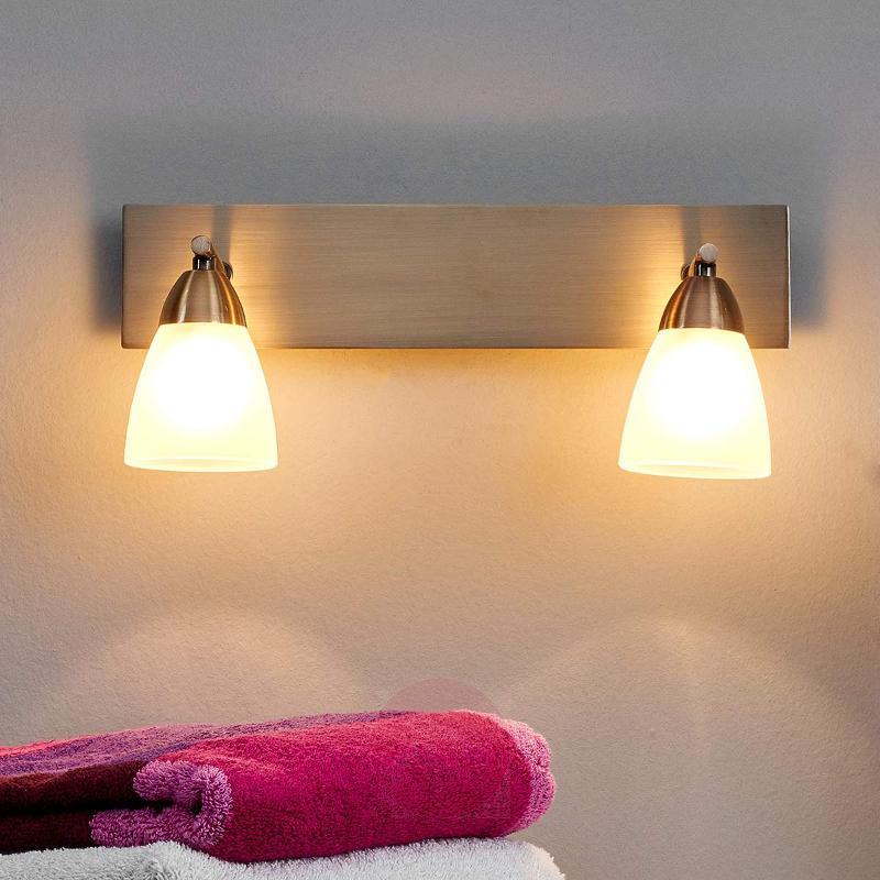 Two-light bathroom wall light Nikla - Wall Lights
