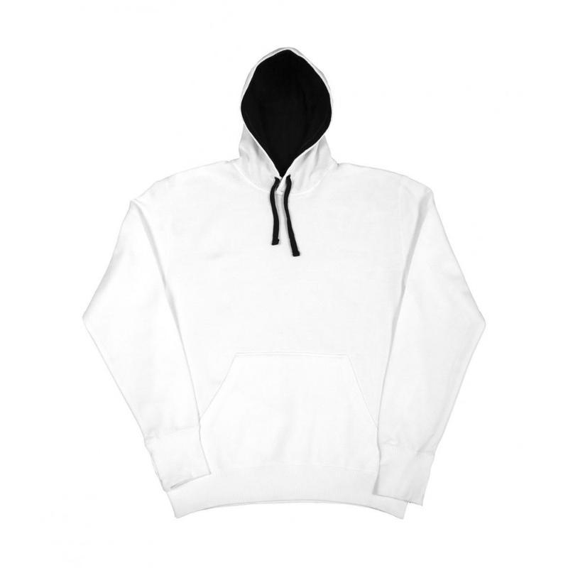 Sweat shirt Contraste - Avec capuche