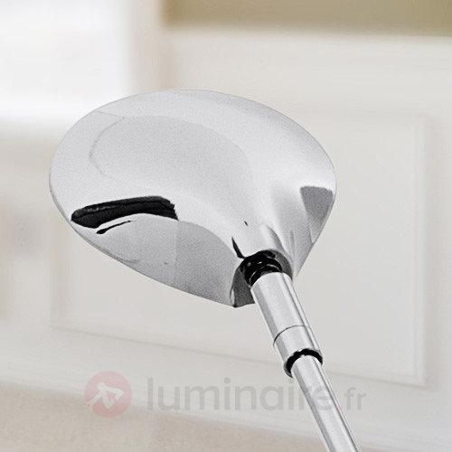 Lampadaire LED Olesia avec une tête inclinable - Lampadaires LED