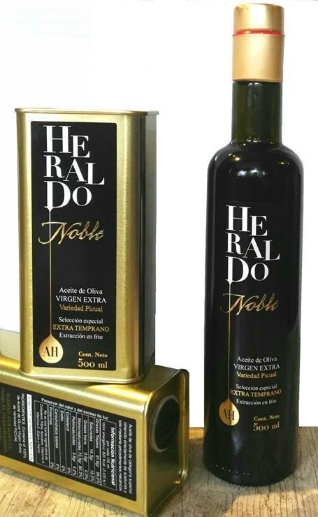 Aceite De oliva gourmet de variedad Picual cosecha temprana - Salud envasada