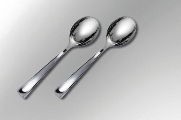 Silver look alike cutlery - Party collection